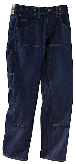 Prison Blues Double Knee Logger Jeans