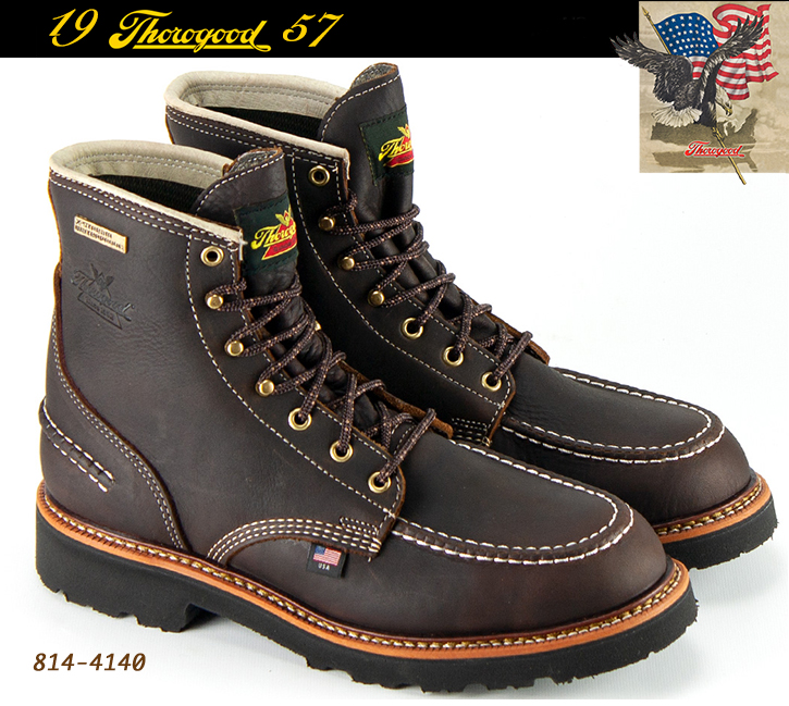 Thorogood 1957 Flyway 6-in Soft-Toe Boots Briar Pitstop 814-4140