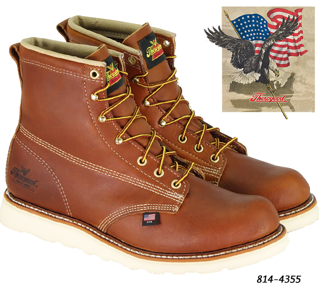 Thorogood American Heritage 6-in Soft-Toe Boots 814-4355