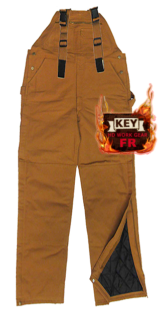 Key FR Insulated Duck Bib Overall 287.21