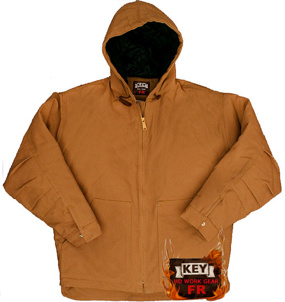 Key FR Insulated Duck Hooded Jacket 387.21