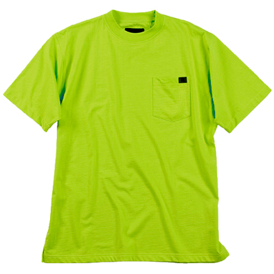 Riggs Heavy Duty Hi-Viz Safety Green T-Shirt X-Lrg 3W700SG