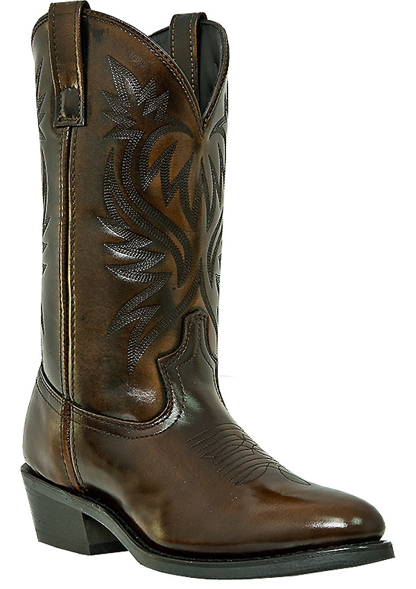 Laredo Paris Western Tan Work Boots 4214
