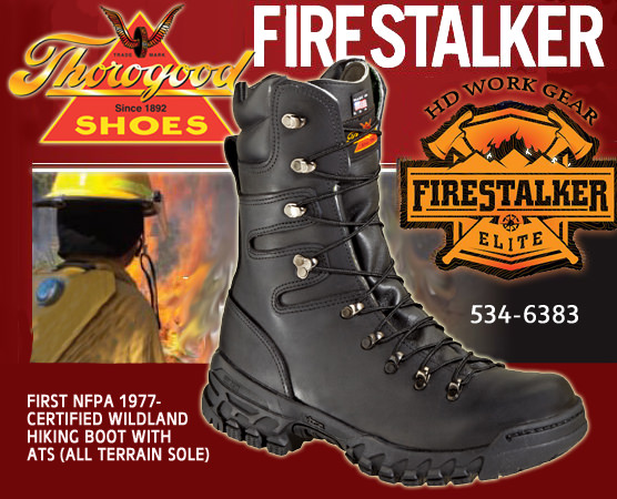 Thorogood Firestalker Elite 9-in Wildland Boot 534-6383