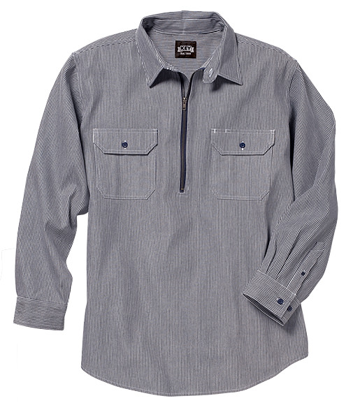 Key Industries Hickory Stripe Logger Shirt 573.47