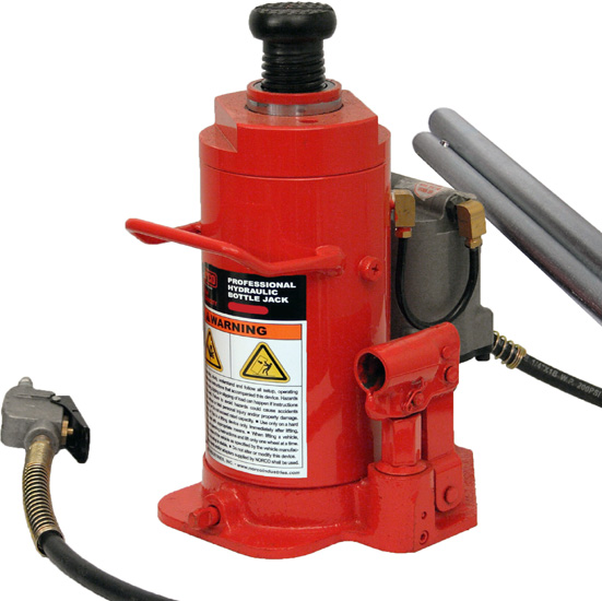 Norco Bottle Jack 12 Ton Capacity Air Hydraulic 76312A