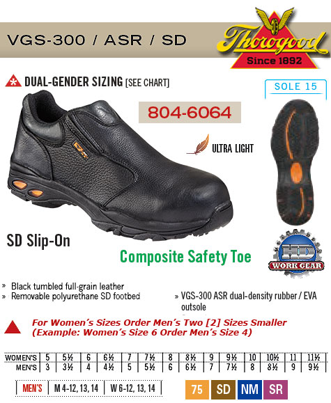 Thorogood SD Slip-On 804-6064