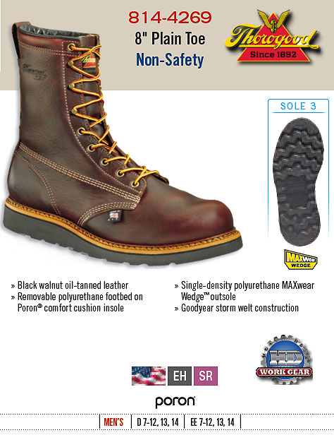 Thorogood Work Boot 814-4269