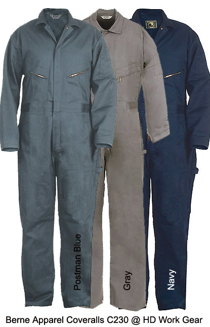 Berne Apparel Deluxe Heavy Duty Coverall C230