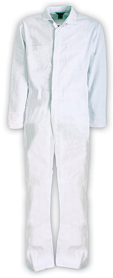 Berne Apparel Stain Resistant White Coveralls C250WH