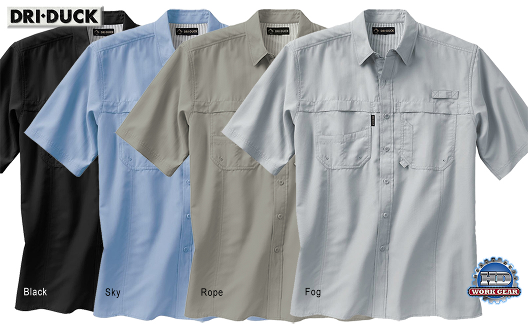 Dri Duck Catch Short Sleeve Shirt 4406
