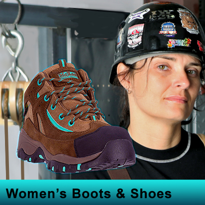 Women's Work Boots & Shoes