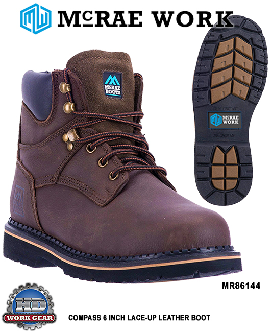 McRae Non-Safety Toe 6-in. Boots Sizes Range: 6 thru 17 MR86144