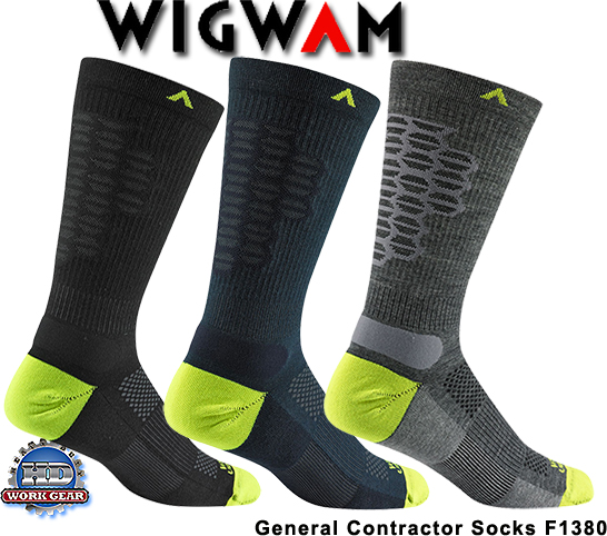 Wigwam General Contractor 3-Pair Pricing/Shipping Included F1380