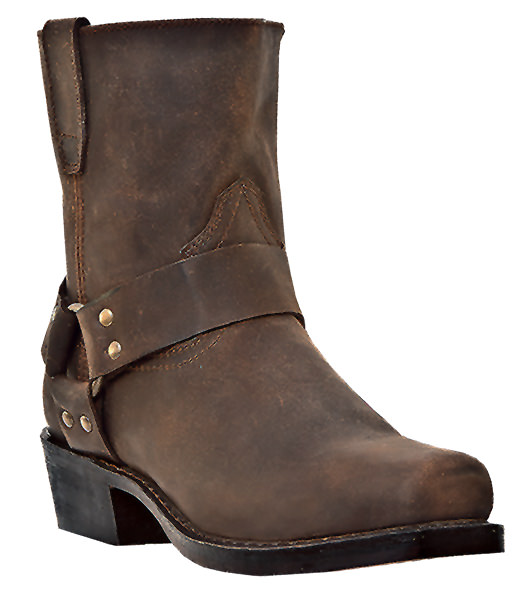 Dingo Rev Up Truckers Brown Boots DI19094