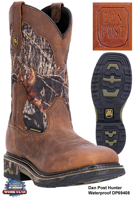 Dan Post Hunter Waterproof Leather Boots DP69408
