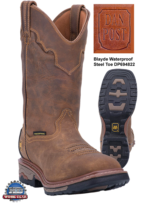 Dan Post Blayde Waterproof Steel Toe Leather Boots DP69482