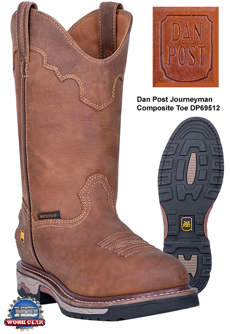 Dan Post Journeyman Composite Toe Leather Boots DP69512