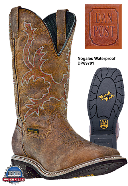 Dan Post Nogales Waterproof Leather Boots DP69791