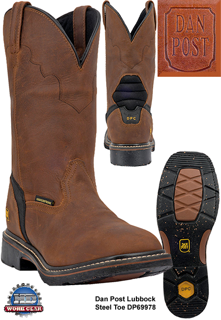 Dan Post Lubbock Steel Toe WP Boots DP69978