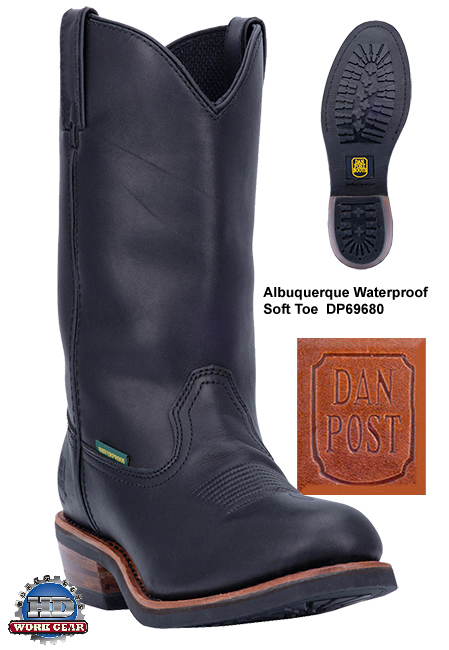 Dan Post Albuquerque Waterproof Leather Boots DP69680