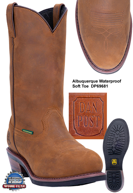Dan Post Albuquerque Waterproof Steel Toe Boots DP69691