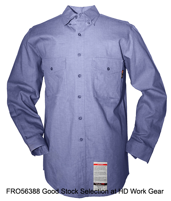 Walls Flame Resistant Arc Flash Work Shirt FRO56388J