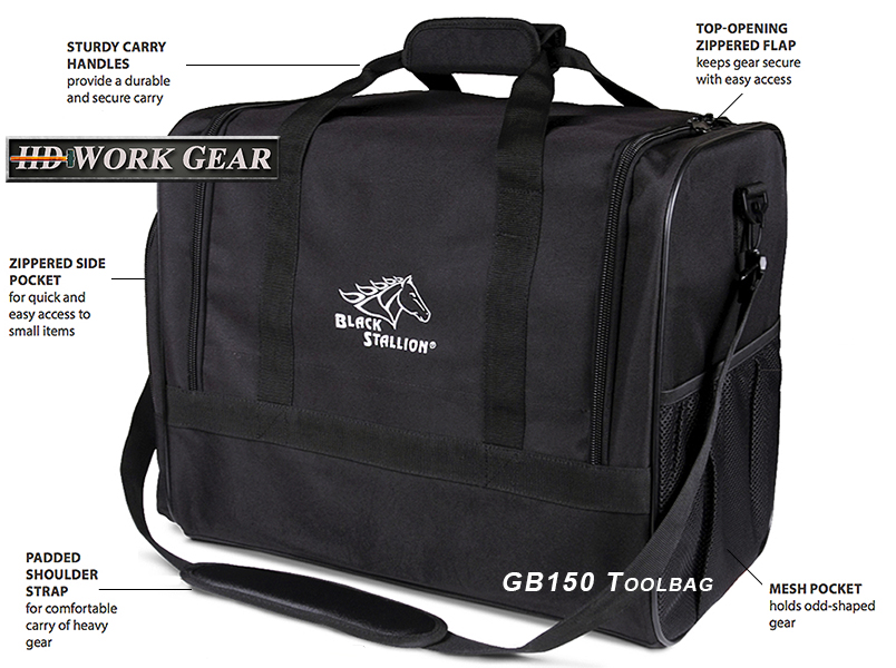 Black Stallion Toolbag Cross-Trade Approved GB150