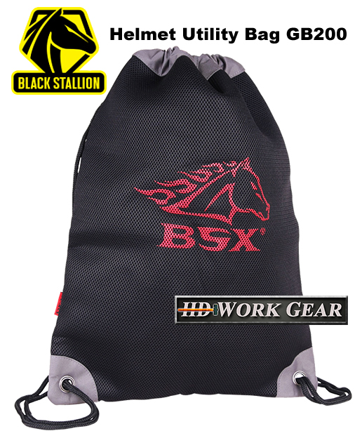 Black Stallion BSX Helmet Utility Bag GB200