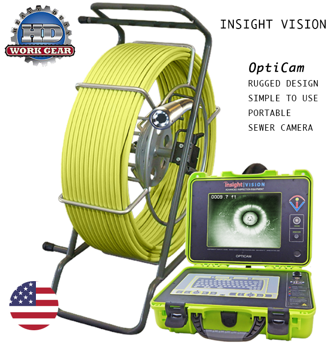 Insight Vision OptiCam Best Selling Sewer Camera