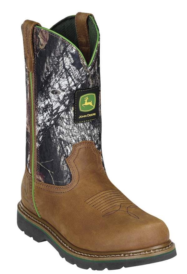 John Deere Pull On Mossy Oak Boots JD4148