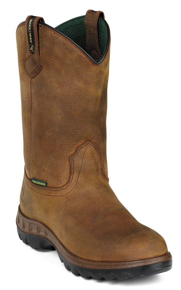 John Deere Pull On Waterproof Boots JD4504