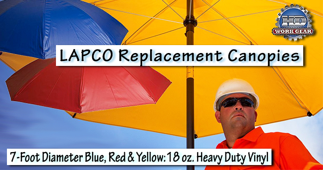 LAPCO 7 ft Dia. Replacement Heavy Duty Vinyl Canopy