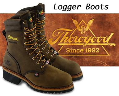 804 Logger Boots