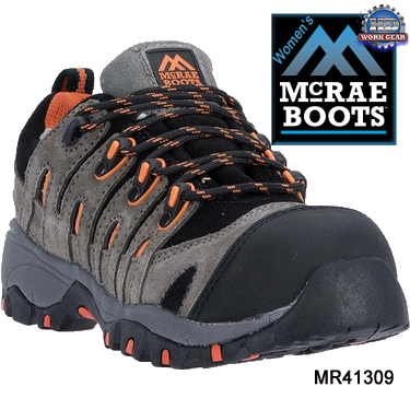McRae Women's Composite Safety Toe Work Hiker MR41309