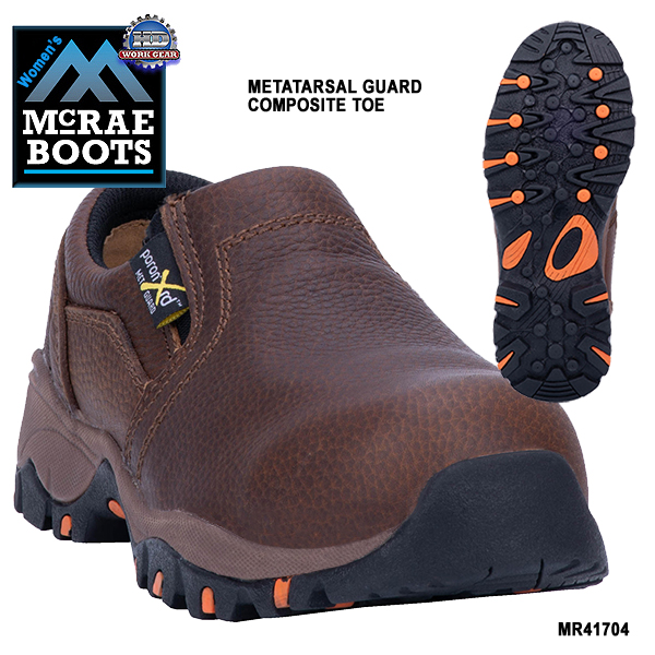 McRae Women's Met Guard Composite Safety Toe Shoe MR41704