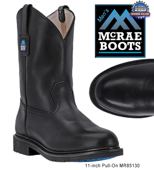 McRae Non Safety Toe Pull-On Classic Work Boots MR85130