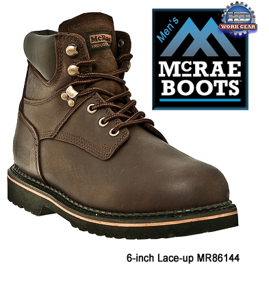 82332531c91 McRae Non-Safety Toe 6-in. Boots Sizes Range: 6 thru 17 MR86144 ...