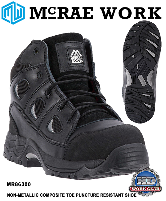 McRae Composite Safety Toe/Puncture Resistant Work Shoes MR86300