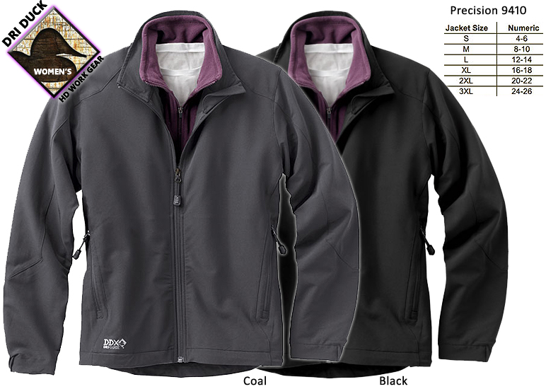 Dri Duck Women's Precision Jacket 9410