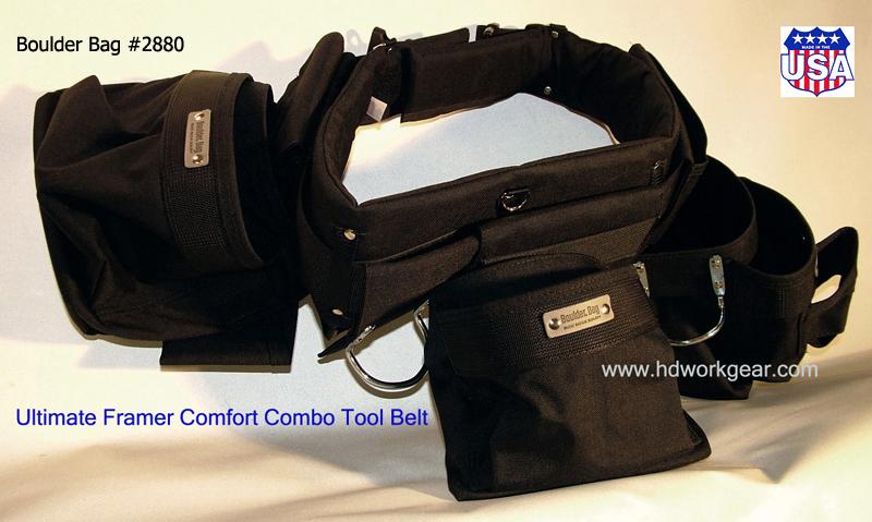 Boulder Bag Tool Belt Ult Pro Framer 2880 Or 2884