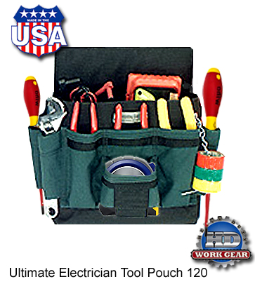 Boulder Bag Electrician Tool Pouch Ultimate Ult120