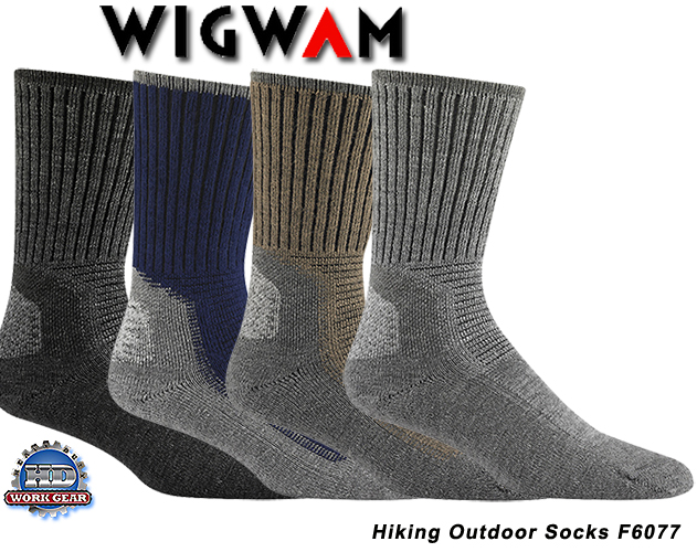 Wigwam Hiking Outdoor 6-Pair Pricing/Shipping Included F6077