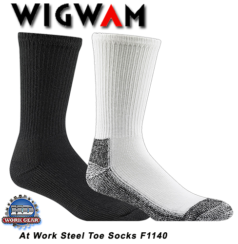Wigwam At Work Steel Toe 6-Pr Pricing/ Shipping Included F1140