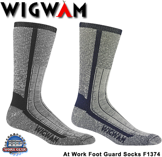 Wigwam At Work Foot Guard 6-Pair Pricing/Shipping Included F1374
