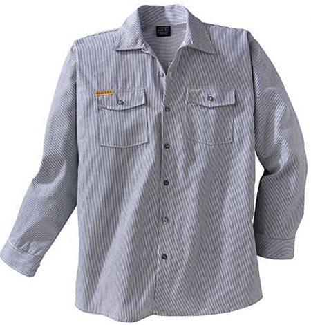 Prison Blues Long Sleeve Hickory Shirt 4031111
